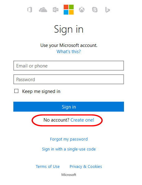 Hotmail Registration – Creat Hotmail Account, Sign up for outlook,