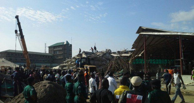 Photo: Collapsed Synagogue Church building