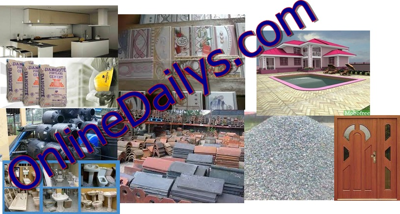 Building Materials: List and Cost of Building Materials in Nigeria