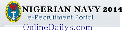 2014 Nigerian NAVY Recruitment Form