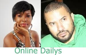 Linda Ikeji and Mr Aye Dee