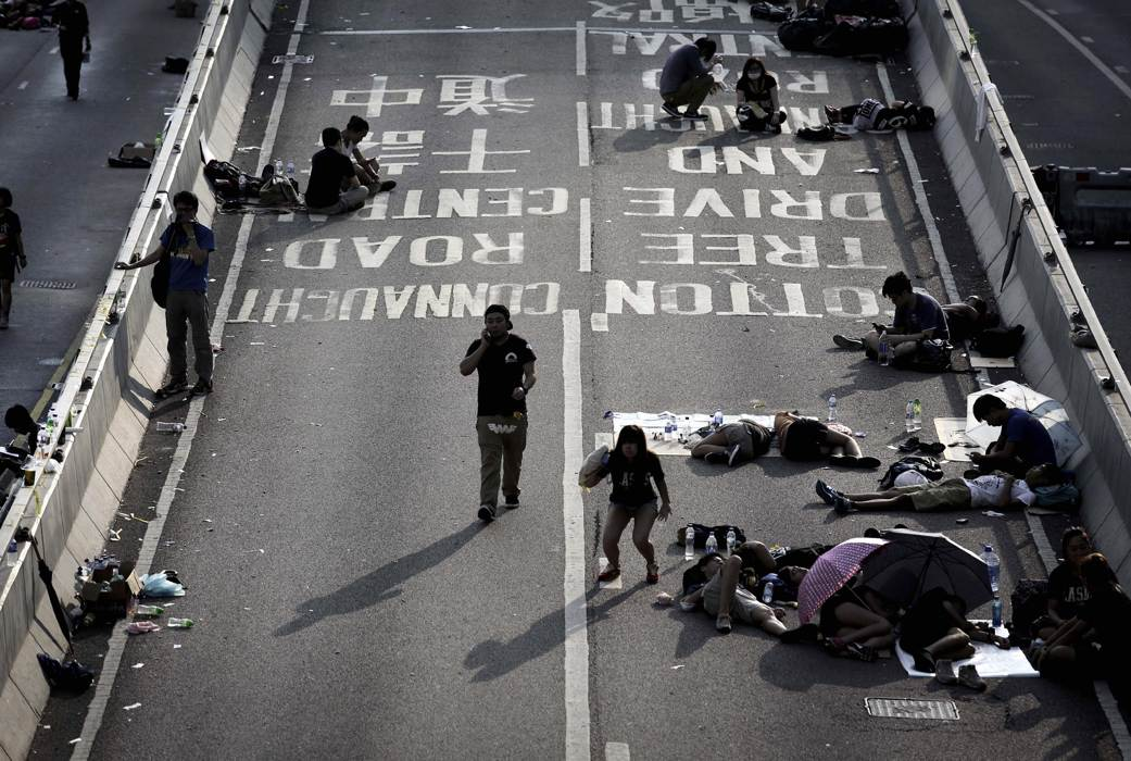 Photos of Hong Kong protests 13