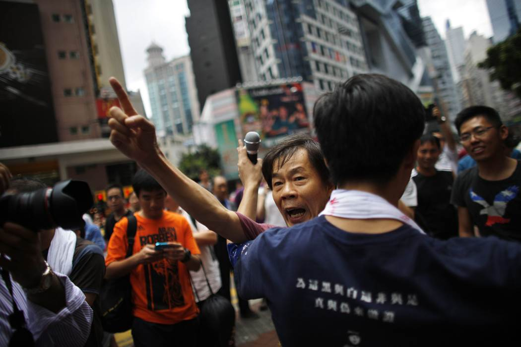 Photos of Hong Kong protests