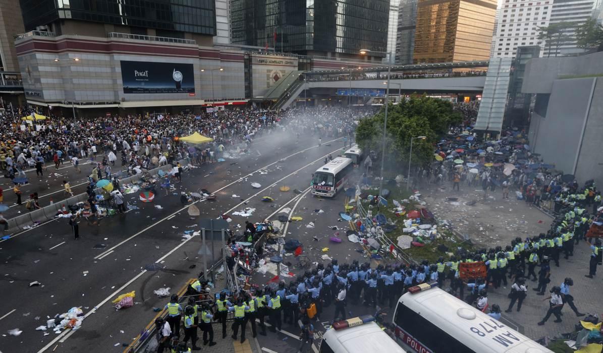 Photos of Hong Kong protests 38