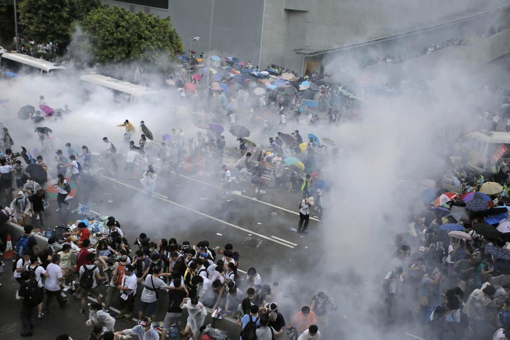 Photos of Hong Kong protests 43