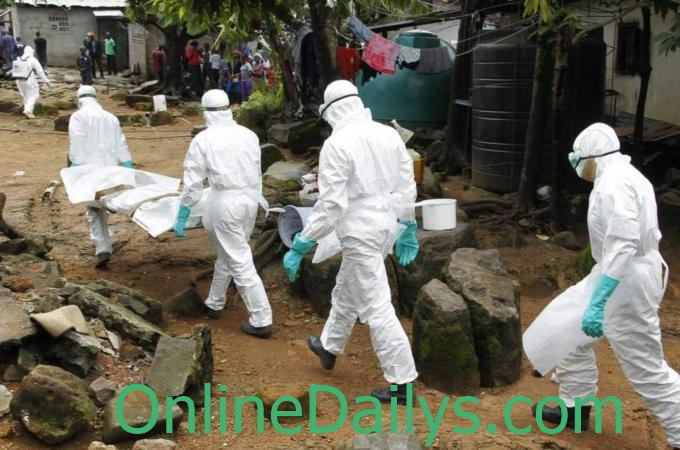 ebola outbreak in Sierra Leone, Guinea and Liberia