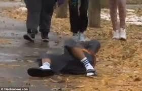 12-year-old Boy carrying fake gun