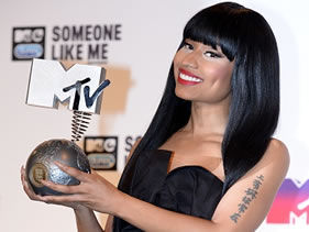 NICKI MINAJ Reigns Supreme As 2014 EMA Host - MTV NEWS