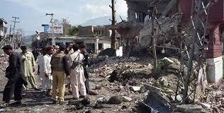 bomb hits school van in Parachinar picture