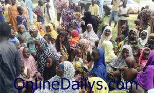 Borno refugee camp