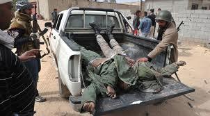 Libya soldiers killed