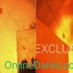 Pakistan News | Major fire erupts in wood godown in Karachi