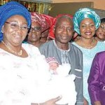 Abimbola Fashola welcomes First Baby of the Year | Lagos