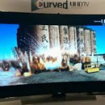 New Samsung Curved UHD TV