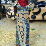 Photo: Terrorist who disguised as woman caught Baga town