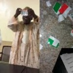 Why Obasanjo (OBJ) tore his PDP membership card  in Public