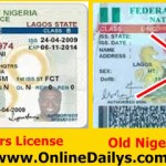 Online Form for Renewal of Nigeria Drivers License