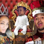 PHOTO – Chris Brown's baby girl answers to Royalty