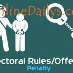 Electoral offences and Penalties