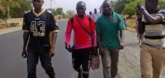 Man who trekked form Lagos to Abuja 6