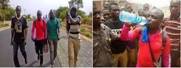 Man who trekked form Lagos to Abuja
