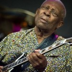 B.B. King (The King of Blues) died on May 14, 2015