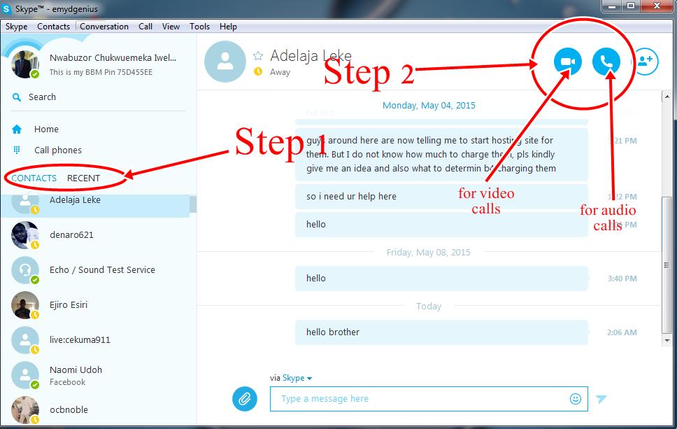 how to make free skype calls
