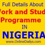About Work and Study Programme in Nigeria