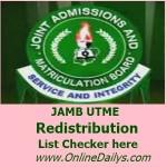 How to Check JAMB Redistribution List for 2015/2016