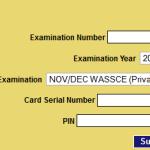WAEC May/June 2015 Result Checker | www.WAECresult.com