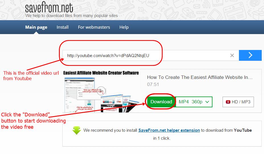 download video image tutorial