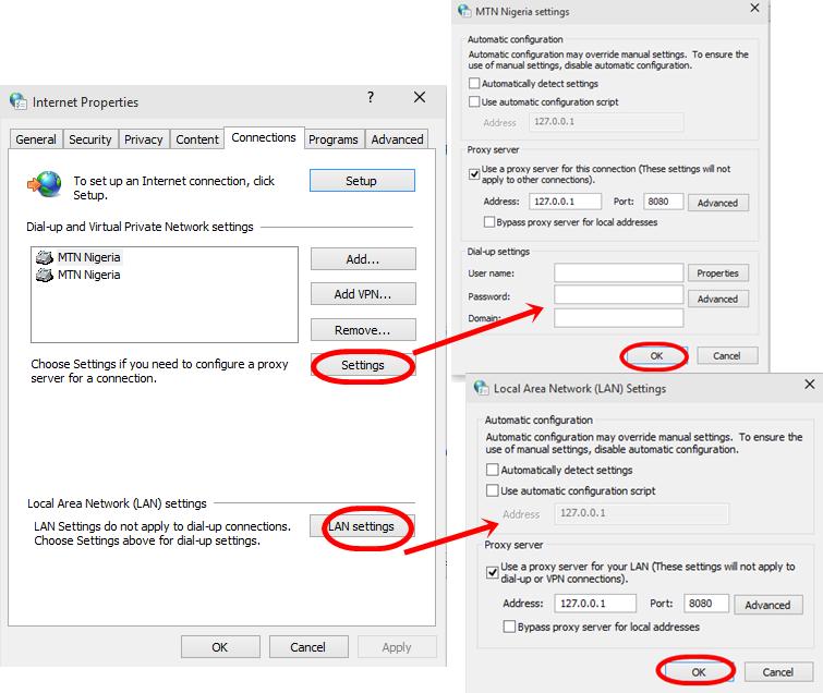 google chrome free browsing configuration