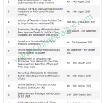 2015 Batch B NYSC Mobilization Time Table – Registration Requirments