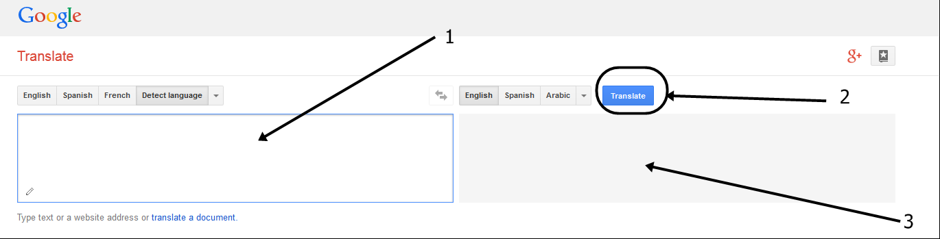 Google translate websiate