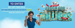 Peak 2015 Milk Million Promo image