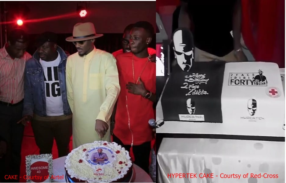 2Face Celebration of Fortieth Birthday