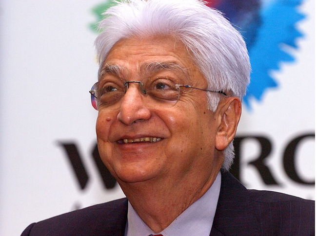 Azim Premji is the third wealthiest Indian