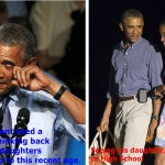 """Malia Obama made her Dad Into A """"Crybaby"""" on her 1st day of high school"""