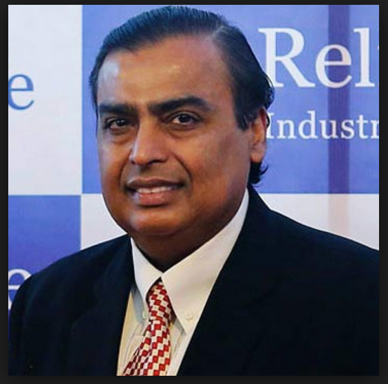 Mukesh Ambani is the top richest is indian