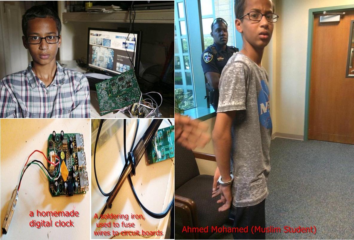Ahmed Mohamed (Muslim Student)