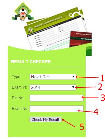 NECO SSCE 2015/2016 Result Checking