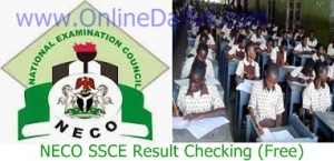 NECO SSCE Result for June/July 2015