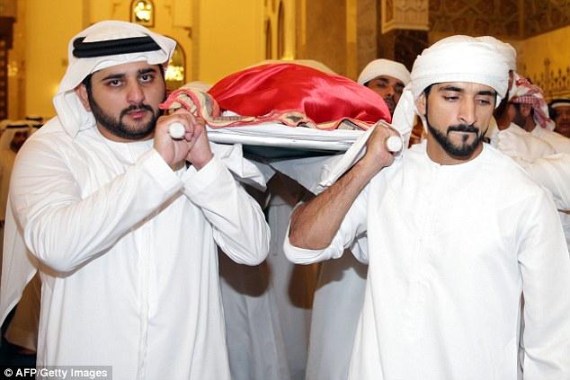 Late Prince Of Dubai Death