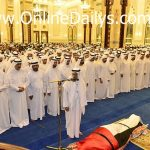 Prince Of Dubai Death: Condolences visit at Zabeel Palace in Dubai