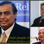 List of 2015 Richest People in India – Net worth & Biography