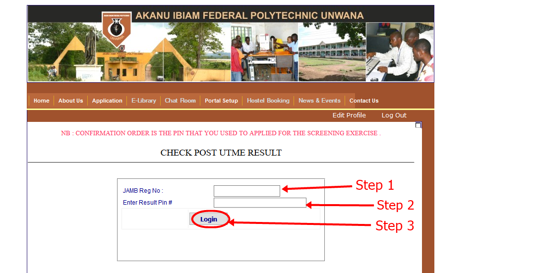 How to Check Akanu Ibiam Federal Polytechnic UNWANA Post UTME Result ...