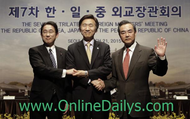 China, Japan & Republic of Korea set date
