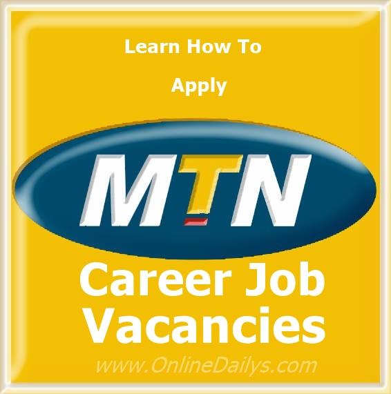 Job Vacancies in MTN Nigeria