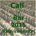Call To Bar 2015 December Requirement – NigerianLawSchool.edu.ng