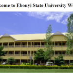 EBSU Supplementary 2015/2016 Admission List Checking